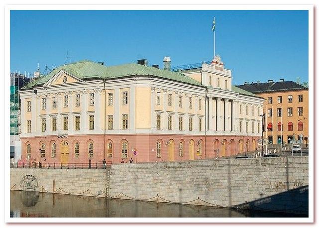 Национальный напитьк Швеции. Дворец Арвфюстернс-палац