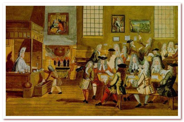 Национальный напиток Швеции. Кофейня 17 века