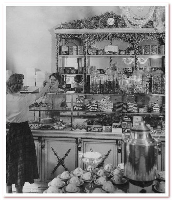 Национальный напиток Швеции. Кондитерская Сундберга в 1950 году.