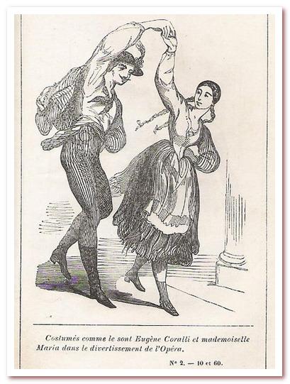 Танец полька покорил Францию