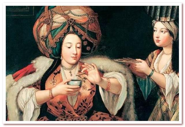 У турок есть давние кофейные традиции, в Константинополе первые кофейни открылись еще в 16 веке. Живопись начала 18 века.