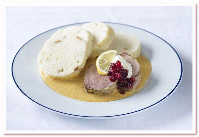 Чешская кухня гордится своими соусами