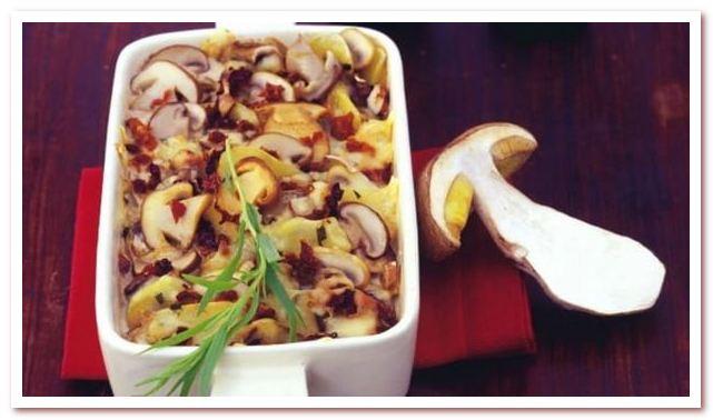 Чешская кухня. Блюда из грибов