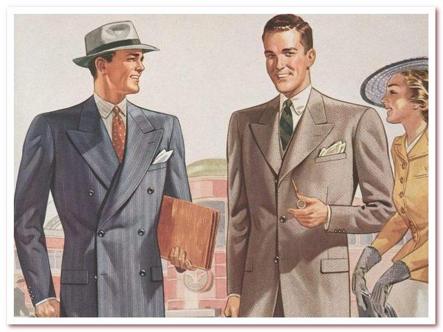 Классическая мужская мода весна — лето 2021