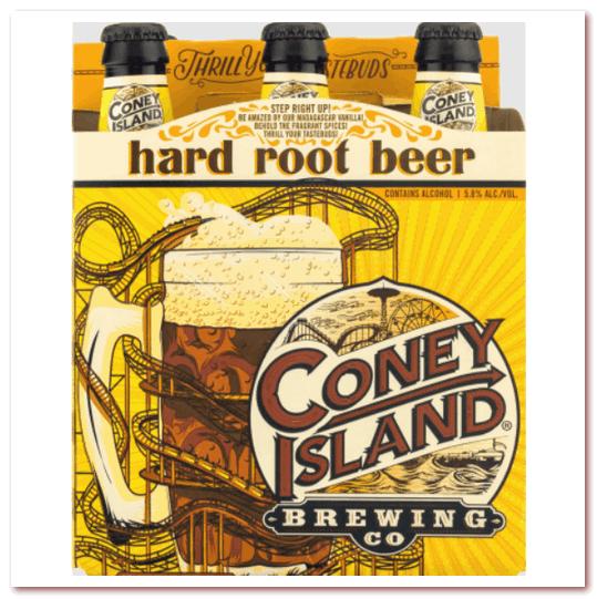 Корневое пиво или рубир. Coney Island Hard Root Beer