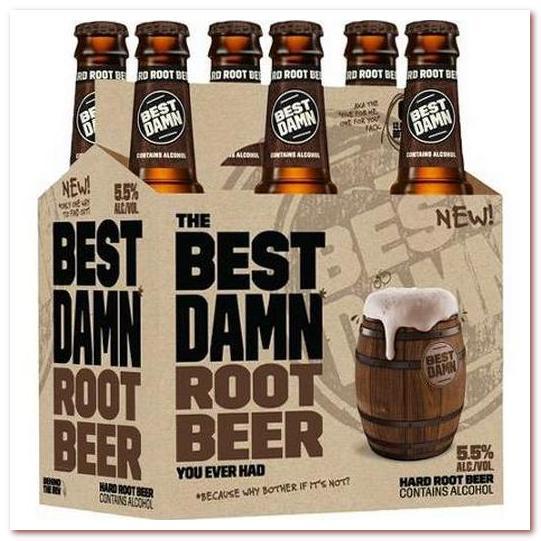 Корневое пиво или рутбир. AB-InBev Best Damn Root Beer