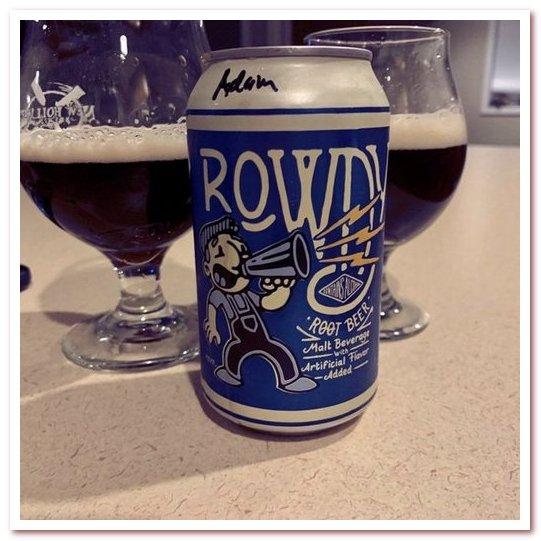 Корневое пиво или рутбир. Berghoff Rowdy Root Beer