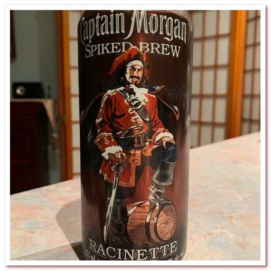 Корневое пиво или рутбир. Captain Morgan Spiked Root Beer
