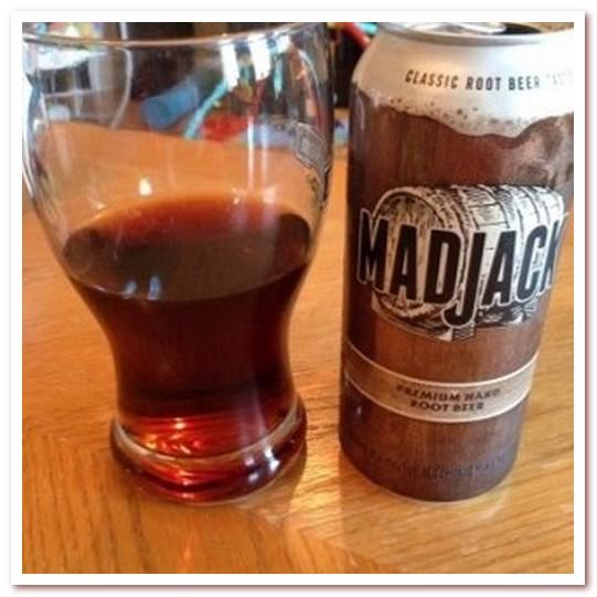 Корневое пиво или рутбир. Coors Mad Jack Hard Root Beer