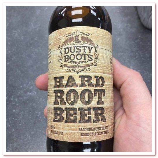 Корневое пиво или рутбир. Dusty Boot Hard Root Beer