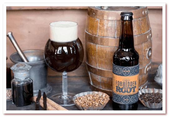 Корневое пиво или рутбир. Forbidden Root Hard Root Beer