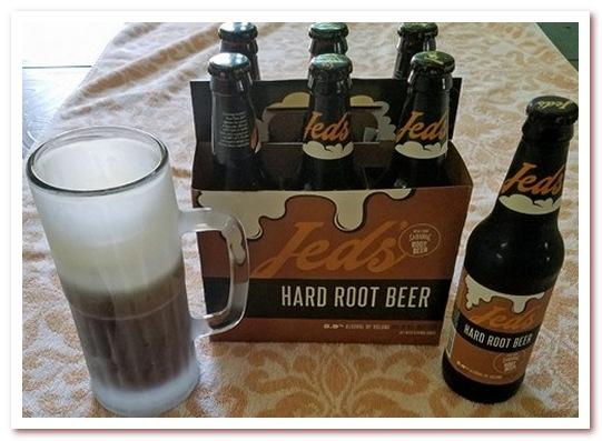 Корневое пиво или рутбир. Jed's Hard Root Beer
