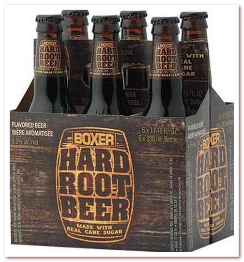 Корневое пиво или рутбир. Minhas Boxer Hard Root Beer