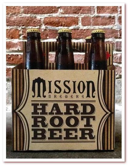 Корневое пиво или рутбир. Mission Brewery Hard Root Beer