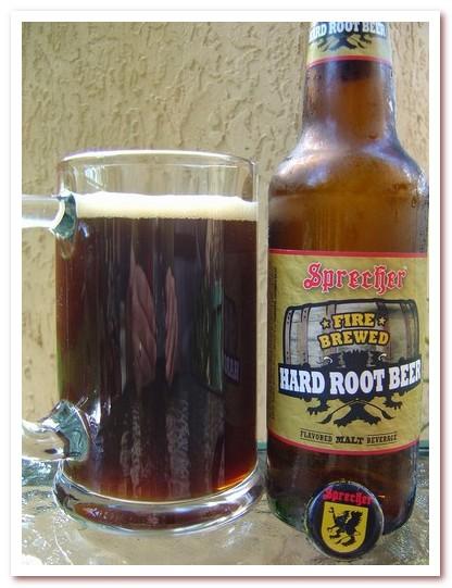 Корневое пиво или рутбир. Sprecher Fire Brewed Hard Root Beer