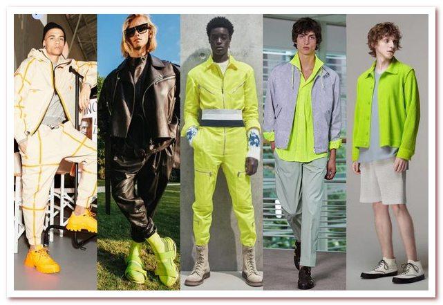 Мужская мода весна — лето 2021