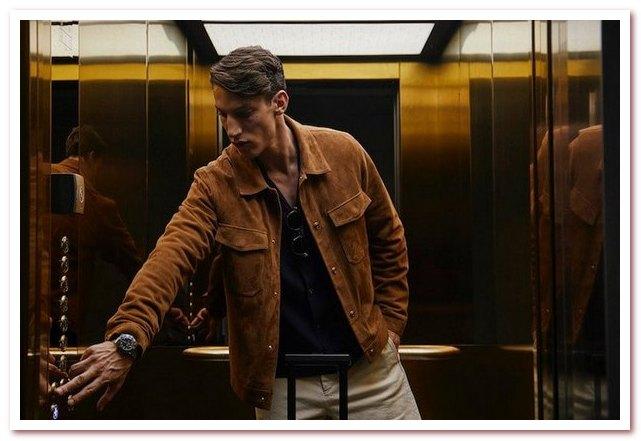 Мужская мода весна — лето 2021 Рубашка от NN07