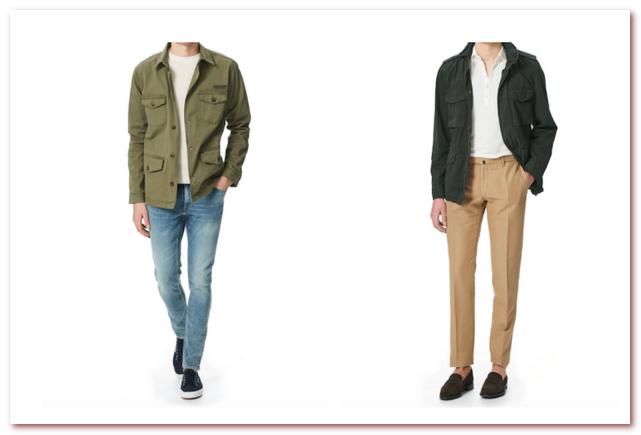 Мужская мода весна — лето 2021. Куртка Safari