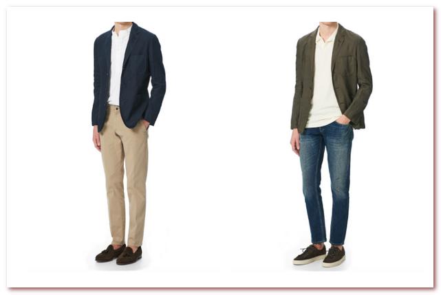 Мужская мода весна — лето 2021. Легкие блейзеры