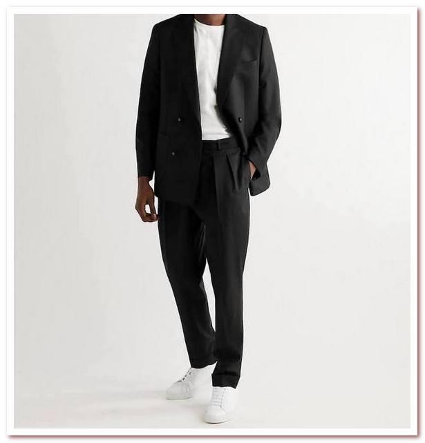Мужская мода весна — лето 2021. Повседневный костюм от Officine General