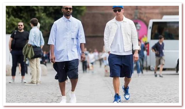Мужская мода весна — лето 2021. Шорты-бермуды