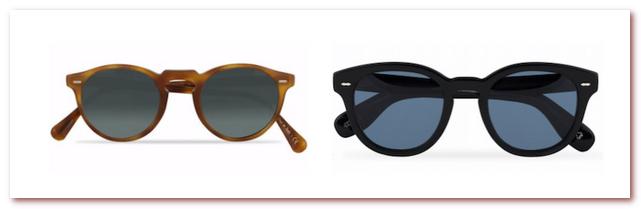 Мужская мода весна - лето 2021. Солнцезащитные очки