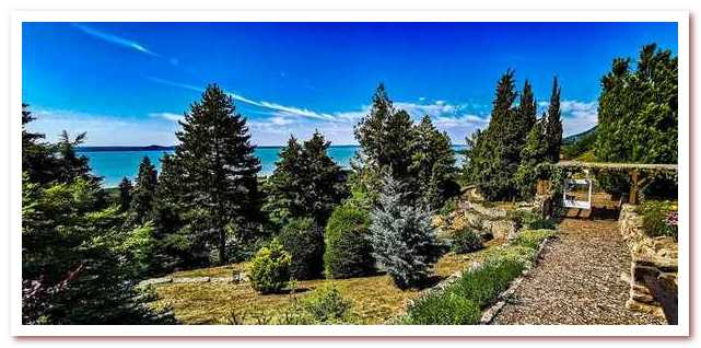 Озеро Балатон. Folly Arboretum