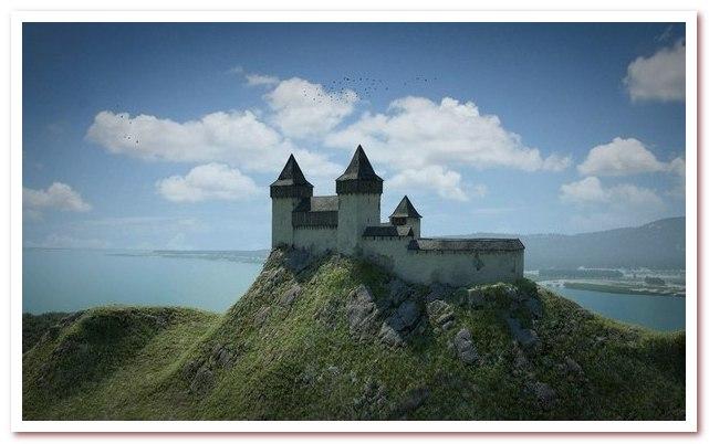 Озеро Балатон. Замок Сиглигет