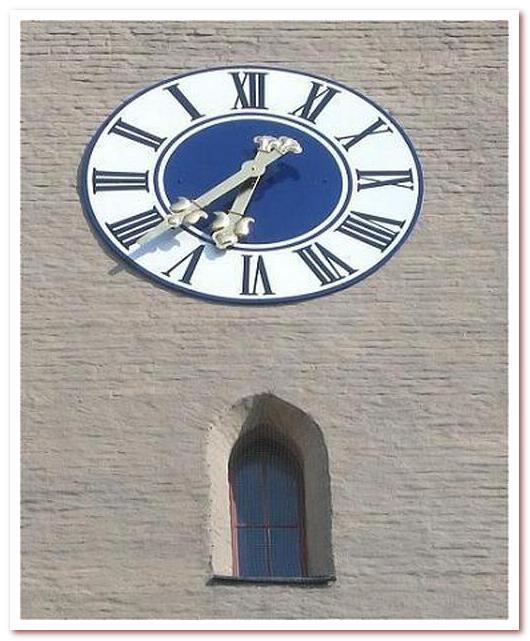Бавария Часы на Изарских воротах
