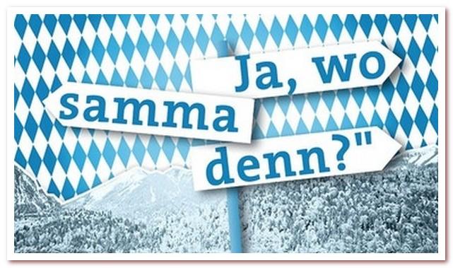 Бавария Ja, wo samma denn