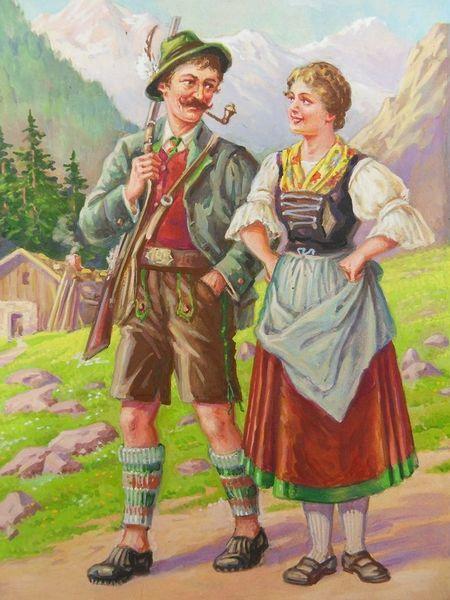 Бавария традиции и обычаи