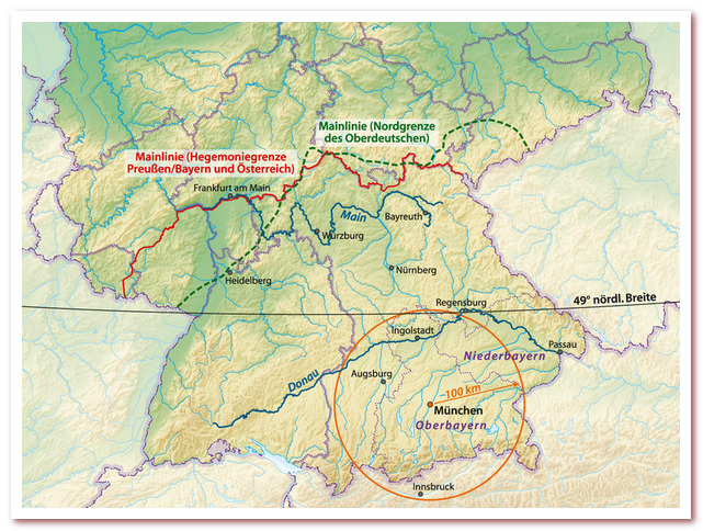 Бавария. Экватор белых сосисок