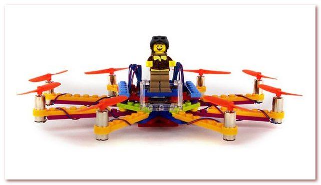 История Лего. Мини-дрон