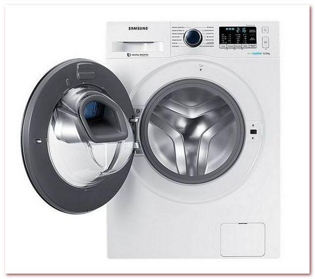 Samsung - стиральная машина серии slim с технологией аэрации EcoBubble и дополнительной дверцей AddWash с возможностью добавления белья во время цикла