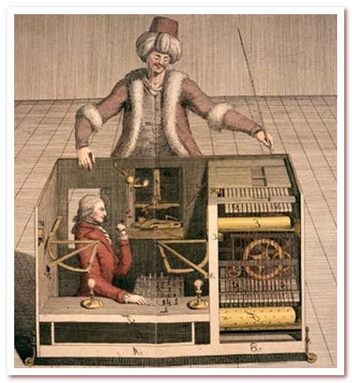Антропоморфный робот. Разоблачение шахматного автомата
