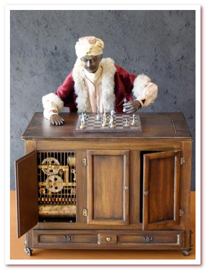 Антропоморфный робот. Шахматист Во́льфганга фон Ке́мпелена
