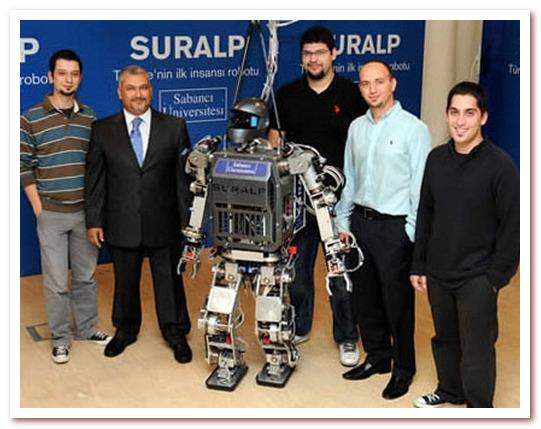 Антропоморфный робот. SURALP