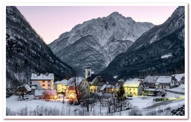Бовец - горнолыжный курорт