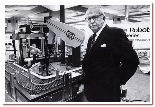 Джордж Девол и первый промышленный робот Unimate