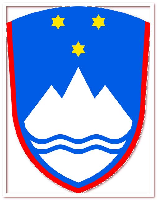 Гора Триглав на гербе Словении