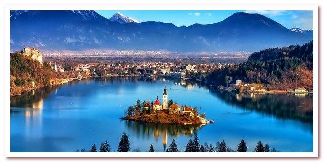Курорты Словении. Блед