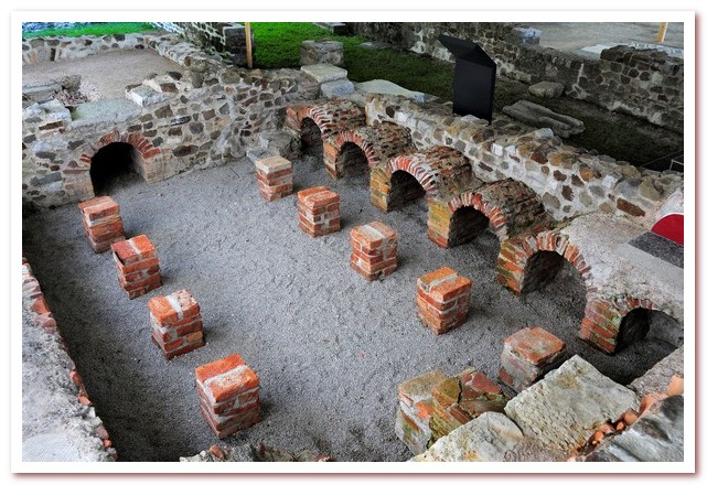 Курорты Словении. Эмона, остатки древнеримского города