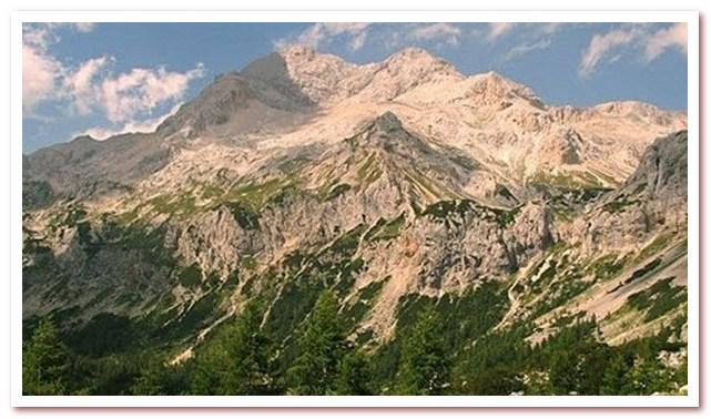 Курорты Словении. Гора Триглав