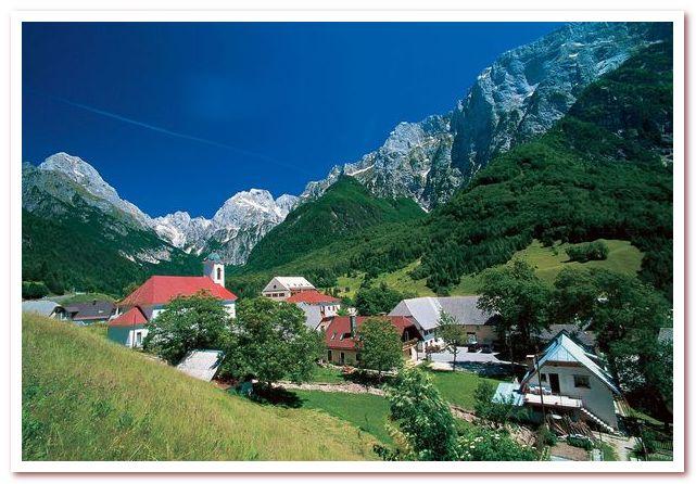 Курорты Словении. Log pod Mangrtom