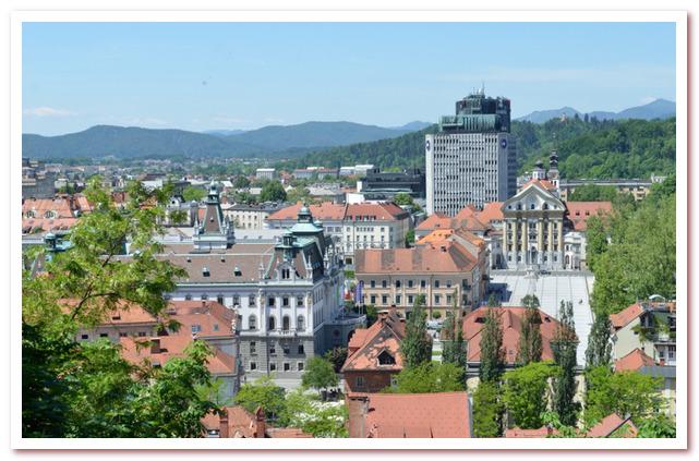 Курорты Словении. Любляна. Площадь Конгресса