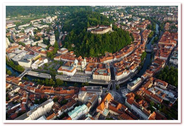 Курорты Словении. Любляна