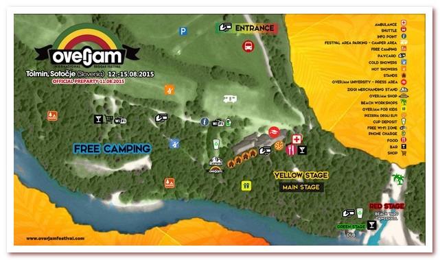 Курорты Словении. Международный фестиваль регги Overjam