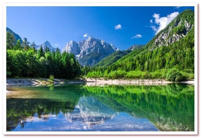 Курорты Словении. Национальный парк Триглав