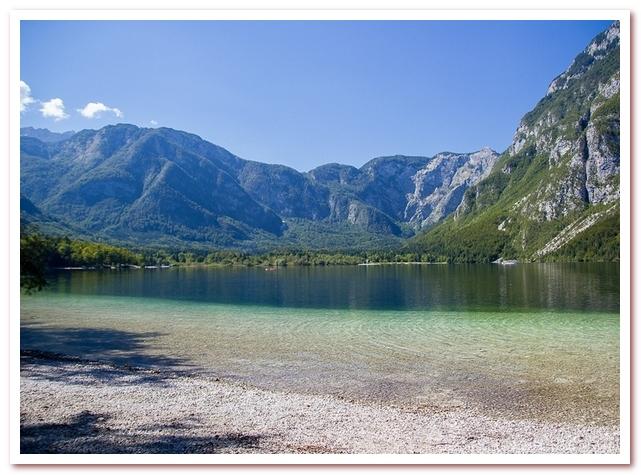 Курорты Словении. Озеро Бохинь