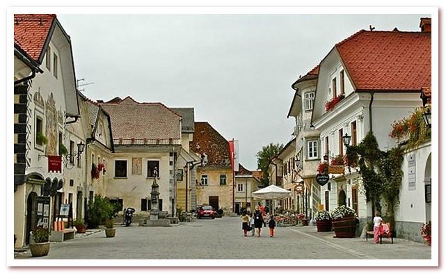 Курорты Словении. Радовлица